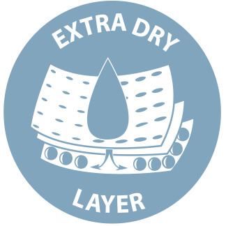 Extra dry layer